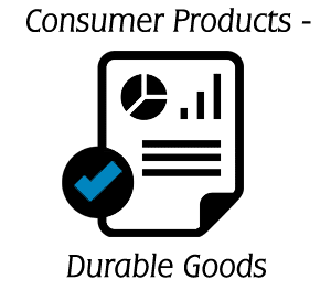 Consumer Products - Durable Goods Industry Benchmark Report